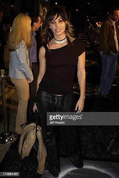 Gina Gershon during Hollywood Film Festival's Opening Night Film World Premiere of The Ring at The ArcLight in Hollywood CA United States