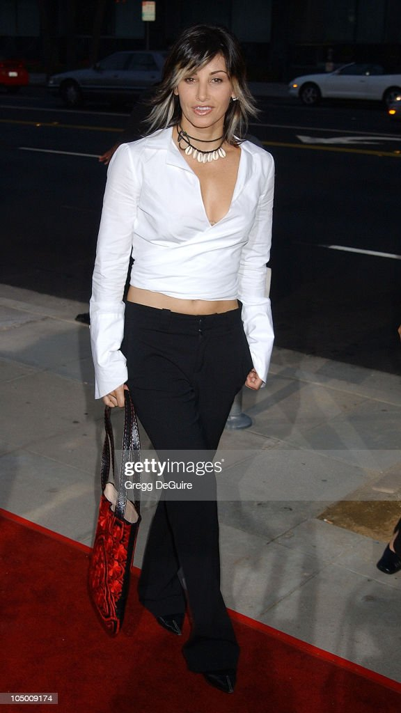 Gina Gershon during 'One Hour Photo' Premiere at Academy Theatre in Beverly Hills, California, United States.