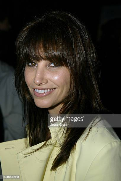 Gina Gershon during Outfest Celebrates Gay Hollywood at The home of Paul Colichman in Bel Air California United States