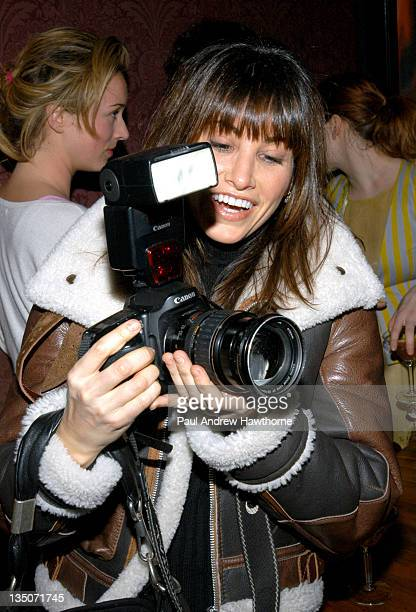 Gina Gershon during Paper Magazine and Svedka Vodka Celebrate Paper Magazine's February Issue Featuring Pharrell Williams at APT in New York City New...