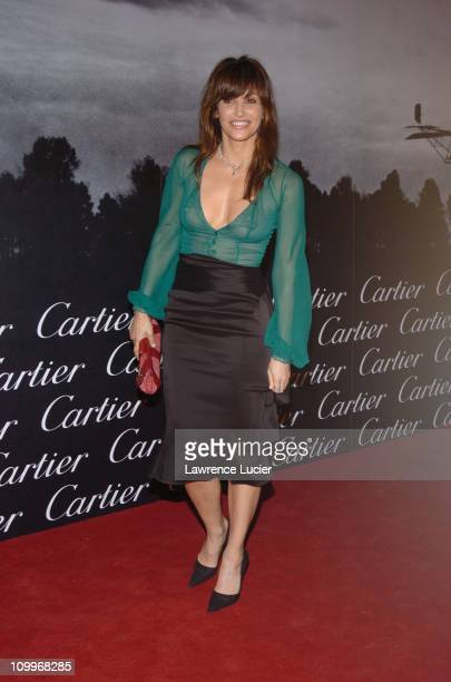 Gina Gershon during Santos Night The 100 Year Anniversary of The Cartier Santos Watch 1904 2004 at The Armory in New York City New York United States