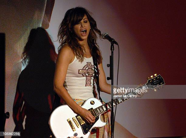 Gina Gershon during Spring 2005 Showing and Celebration of Millergirl at PM Nightclub in New York City New York United States