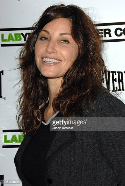 Gina Gershon during The 4th Annual Benefit For The Labyrinth Theater Company Celebrity Charades at The Downtown Auditorium in New York City New York...