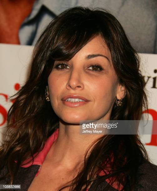 Gina Gershon during The Upside of Anger Los Angeles Premiere Arrivals at The National in Westwood California United States