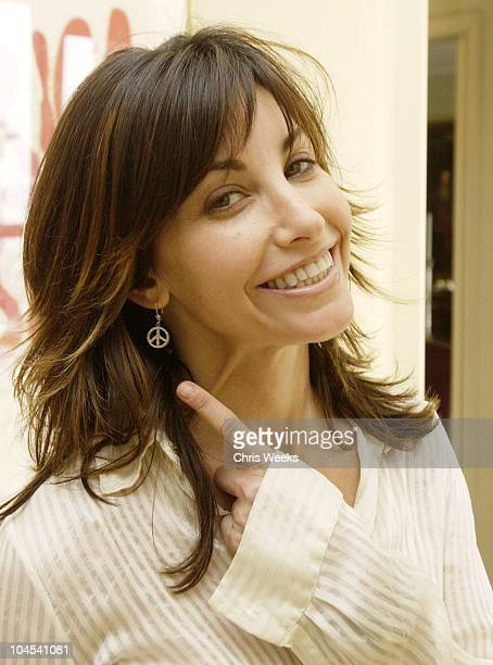 Gina Gershon during W Magazine Hollywood Retreat Day Two at Private Residence in Beverly Hills California United States
