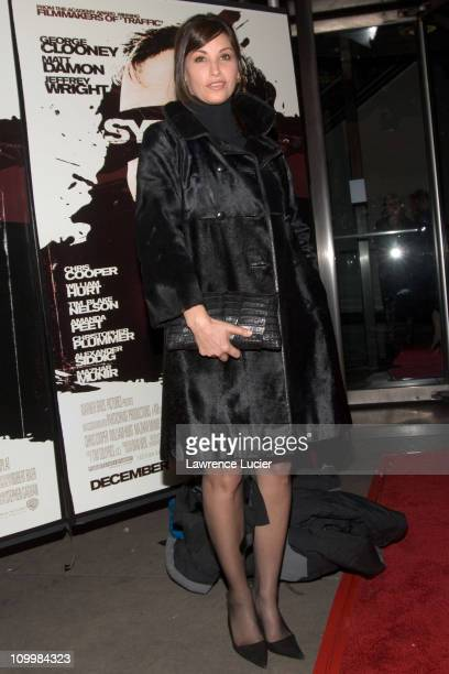 Gina Gershon during Warner Bros' Syriana New York City Premiere at Loews Lincoln Square in New York City New York United States