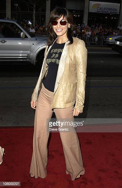 """Gina Gershon during """"Windtalkers"""" Premiere at Grauman's Chinese Theatre in Hollywood, California, United States."""