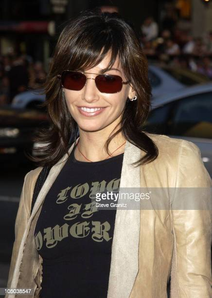 Gina Gershon during Windtalkers Premiere at Grauman's Chinese Theatre in Hollywood California United States
