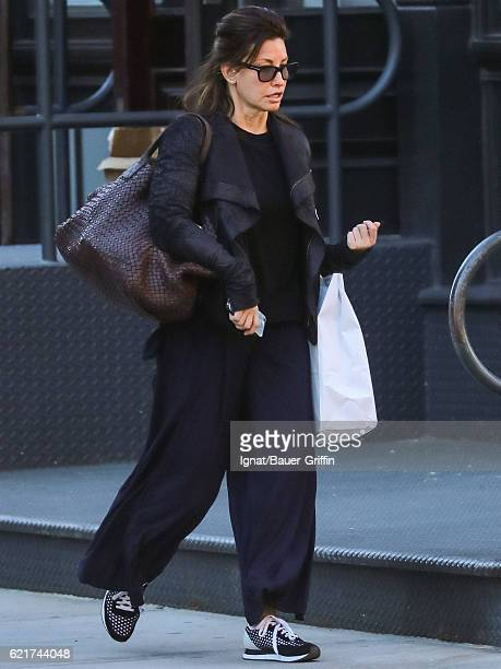 Gina Gershon is seen on November 07 2016 in New York City