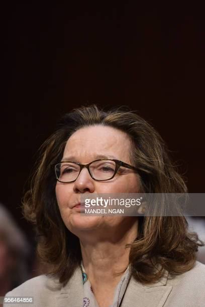 Gina Haspel arrives to testify before the Senate Intelligence Committee on her nomination to be the next CIA director in the Hart Senate Office...