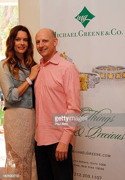 Gina Holden and Michael Greene attend Eco Oscars 2013 on February 23 2013 in Beverly Hills California