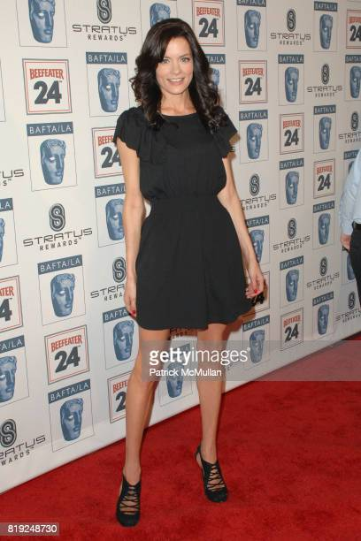 Gina Holden attends 2010 BAFTA LA Awards Season Tea Party at Beverly Hills Hotel on January 16 2010 in Beverly Hills California