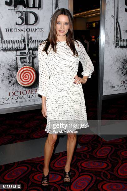 Gina Holden attends SAW 3D Special LA Screening at The Mann's Chinese 6 on October 27 2010 in Hollywood California