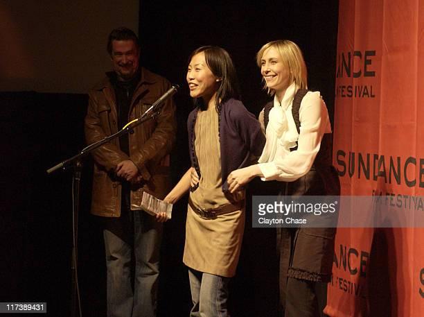 "Gina Kim and Vera Farmiga during 2007 Sundance Film Festival - ""Never Forever"" Premiere at Racquet Club in Park City, Utah, United States."