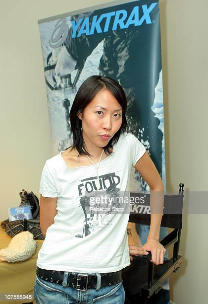 "Gina Kim, Director of ""Never Forever"" at Yaktrax during 2007 Park City - Luxury Lounge - Day 4 at Media Placement Luxury Lounge in Utah, United..."