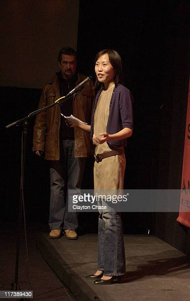 """Gina Kim during 2007 Sundance Film Festival - """"Never Forever"""" Premiere at Racquet Club in Park City, Utah, United States."""