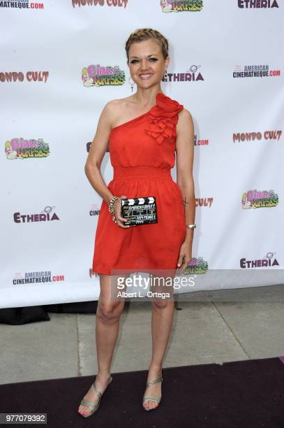 Gina Lee Ronhovde arrives for the 2018 Etheria Film Night held at the Egyptian Theatre on June 16 2018 in Hollywood California