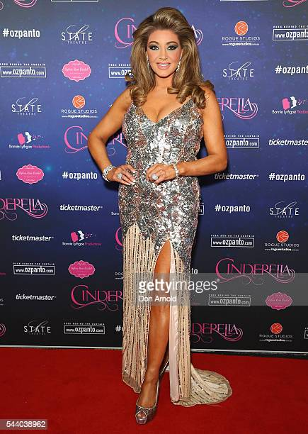 Gina Liano arrives ahead of opening night of Cinderella at State Theatre on July 1 2016 in Sydney Australia