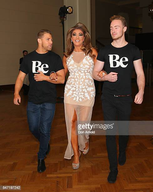 Gina Liano arrives at the launch of new online lifestyle destination 'Be' at David Jones Elizabeth Street Store on July 14 2016 in Sydney Australia