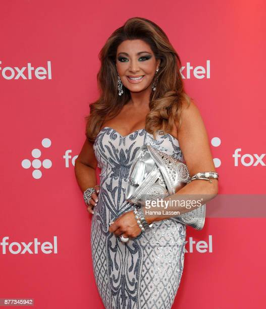Gina Liano during a Real Housewives of Melbourne Season 4 Media Opportunity on November 22 2017 in Sydney Australia