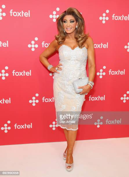 Gina Liano poses during a Foxtel Event at Hordern Pavilion on June 6 2017 in Sydney Australia