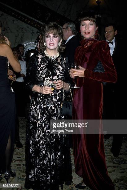 Gina Lollobrigida and Elsa Martinelli circa 1983 in New York City
