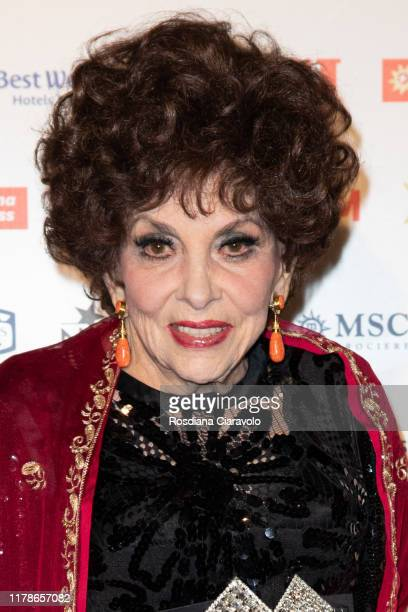 Gina Lollobrigida attends the celebrations of the 80 years of the Oggi magazine at Hotel Principe di Savoia on October 02, 2019 in Milan, Italy.