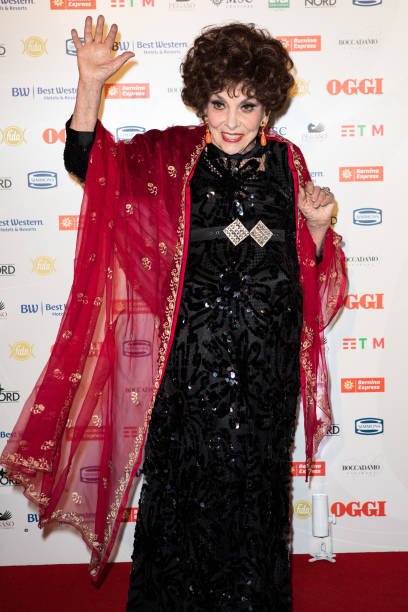 Gina Lollobrigida attends the celebrations of the 80 years of the Oggi magazine at Hotel Principe di Savoia on October 02 2019 in Milan Italy