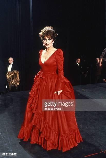 Gina Lollobrigida circa 1982 in New York City