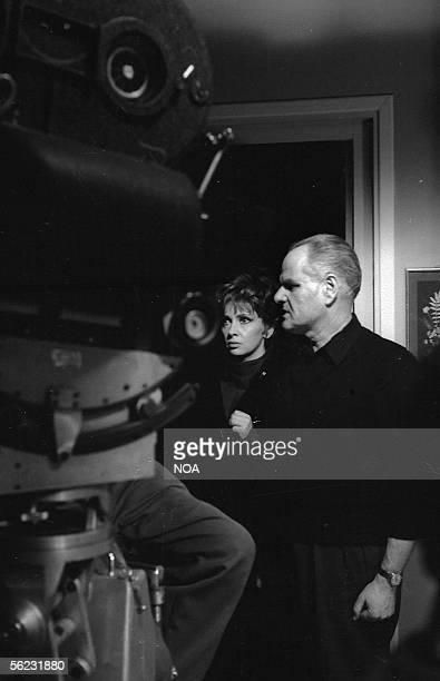 "Gina Lollobrigida directed by Jean Delannoy in the movie ""Les Sultans"". Paris, 1965. HA-1053-18."
