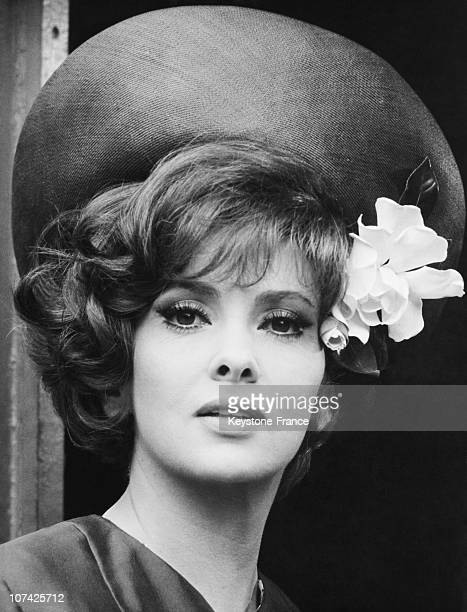Gina Lollobrigida During The Shooting Of The Movie Me Me Me And The Others Movie On June 1965