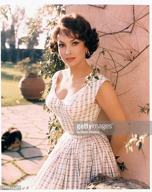 Gina Lollobrigida in publicity portrait for the film 'Woman Of Rome' 1954