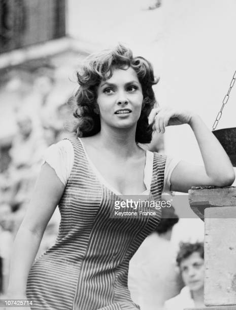 Gina Lollobrigida In The Law Movie On June 1958
