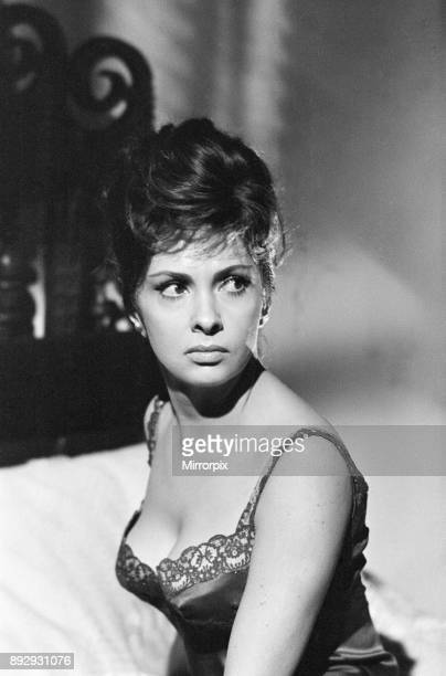 Gina Lollobrigida italian actress on set of new film Woman of Straw Pinewood Studios Buckinghamshire Monday 26th August 1963