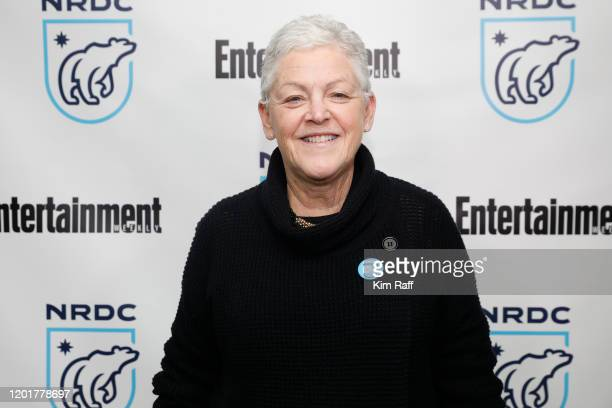 Gina McCarthy, NRDC President and Chief Executive Officer, attends the EW x NRDC Sundance Film Festival Panel Series: Julia Louis-Dreyfus & Gina...