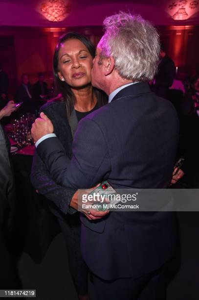 Gina Miller and John Bercow attend the PinkNews Awards 2019 at The Church House on October 16 2019 in London England