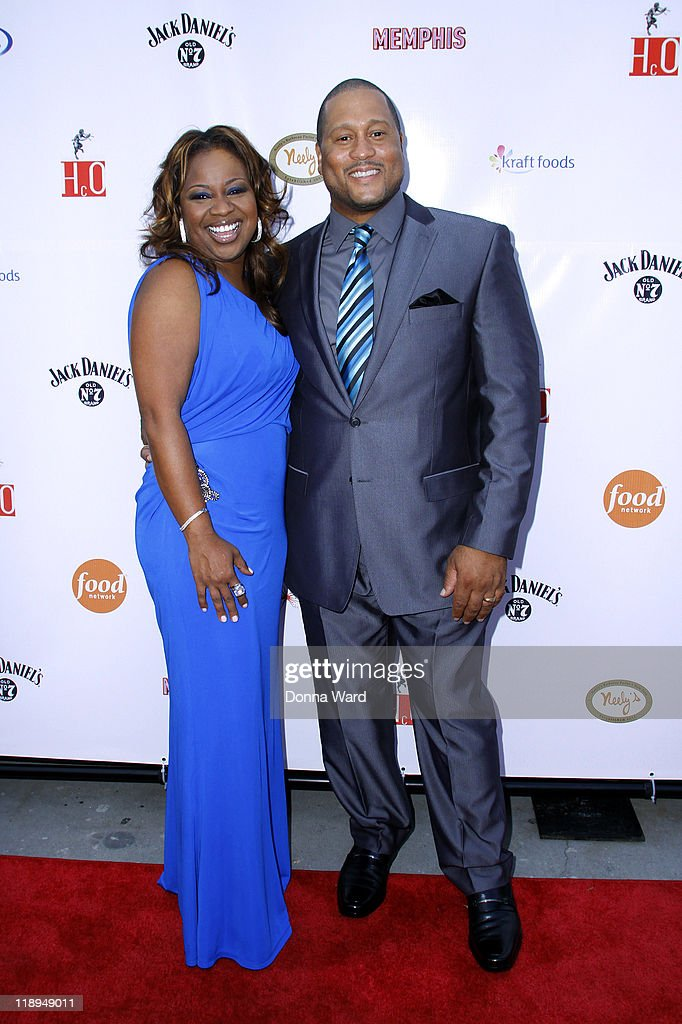 Gina Neely and Pat Neely attend the grand opening of Nelly's Barbecue Parlor on July 12, 2011 in New York City.