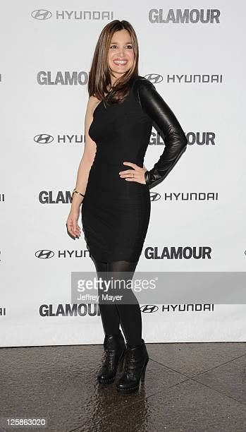 Gina Philips attends the 5th Anniversary Of Glamour Reel Moments at the Director's Guild of America on October 25 2010 in Los Angeles California