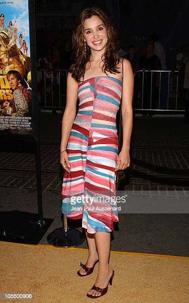 Gina Philips during National Lampoon's Gold Diggers Premiere Arrivals at The Grove Stadium 14 in Los Angeles California United States