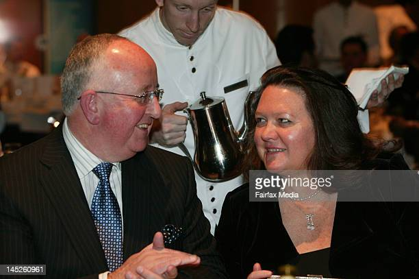 Gina Rinehart attends the CEDA lunch held at the Hyatt Hotel on August 1 2006 in Peth Australia