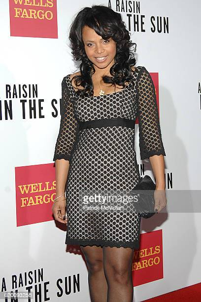 Gina Rivera attends West Coast Screening of 'A Raisin in the Sun' at AMC Magic Johnson on February 11 2008 in Los Angeles CA