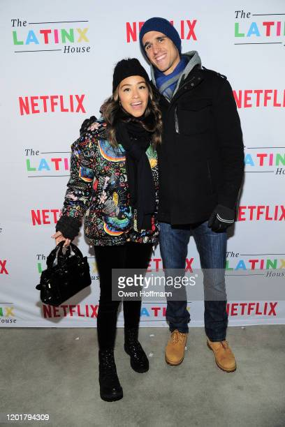 Gina Rodriguez and Joe Locicero attends The Latinx House And Netflix Host Their Joint Kick-off Party At The 2020 Sundance Film Festival on January...