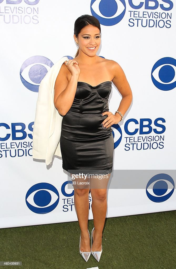 Gina Rodriguez arrives at the CBS Summer Soiree at The London West Hollywood on May 19, 2014 in West Hollywood, California.