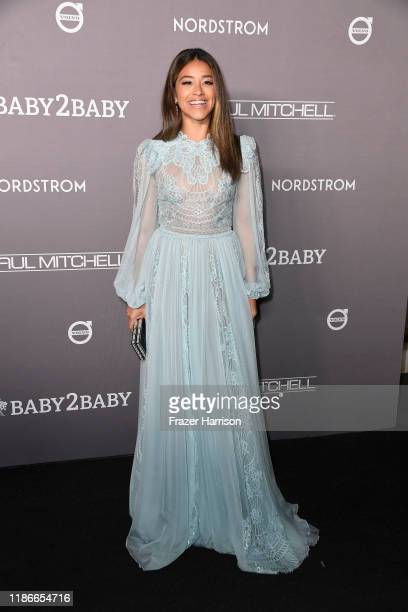 Gina Rodriguez attends 2019 Baby2Baby Gala Presented By Paul Mitchell at 3LABS on November 09 2019 in Culver City California