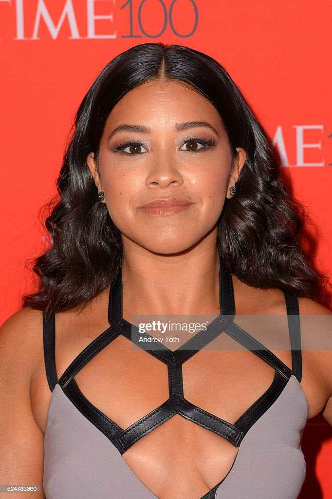 Gina Rodriguez attends the 2016 Time 100 Gala at Frederick P. Rose Hall, Jazz at Lincoln Center on April 26, 2016 in New York City.
