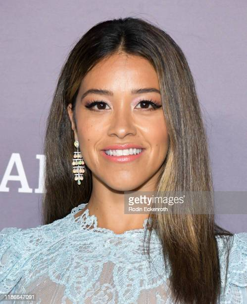 Gina Rodriguez attends the 2019 Baby2Baby Gala Presented by Paul Mitchell at 3LABS on November 09, 2019 in Culver City, California.
