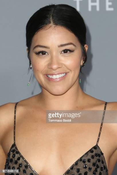 Gina Rodriguez attends the 20th CDGA on February 20 2018 in Beverly Hills California