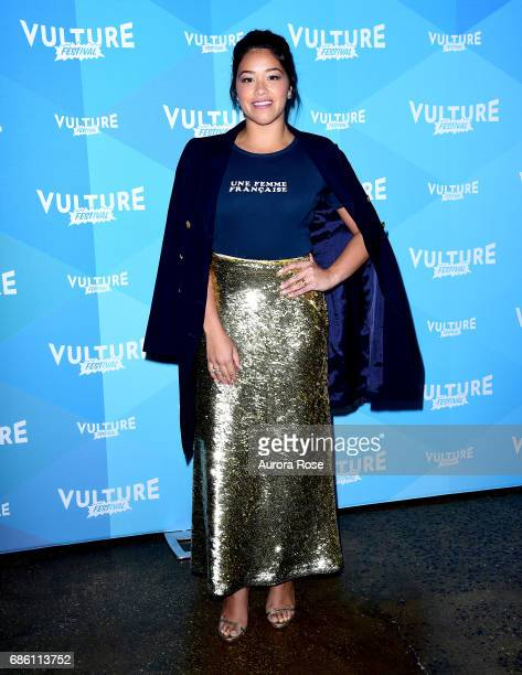 Gina Rodriguez attends the 'Jane The Virgin' Screening during the Vulture Festival at Milk Studios on May 20 2017 in New York City