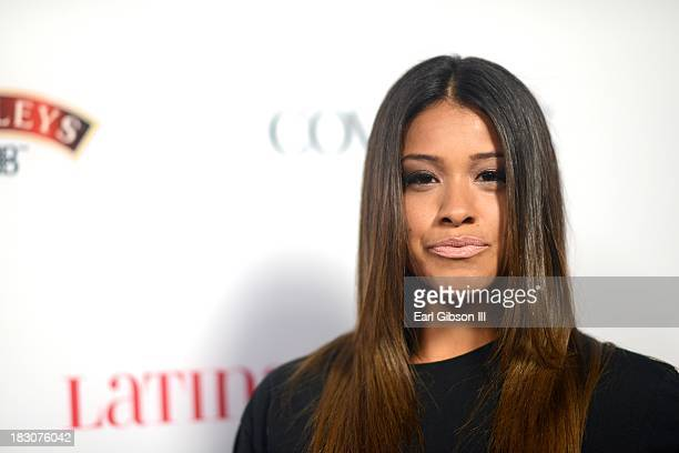 """Gina Rodriguez attends the Latina Magazine """"Hollywood Hot List"""" Party at The Redbury Hotel on October 3, 2013 in Hollywood, California."""