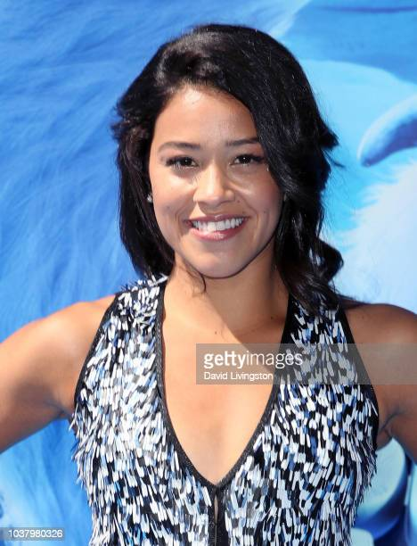 Gina Rodriguez attends the premiere of Warner Bros Pictures' Smallfoot at Regency Village Theatre on September 22 2018 in Westwood California